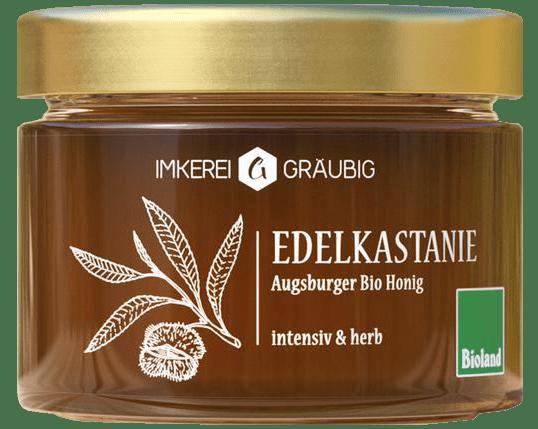 Edelkastanie Bio-Honig aus Augsburg und Deutschland