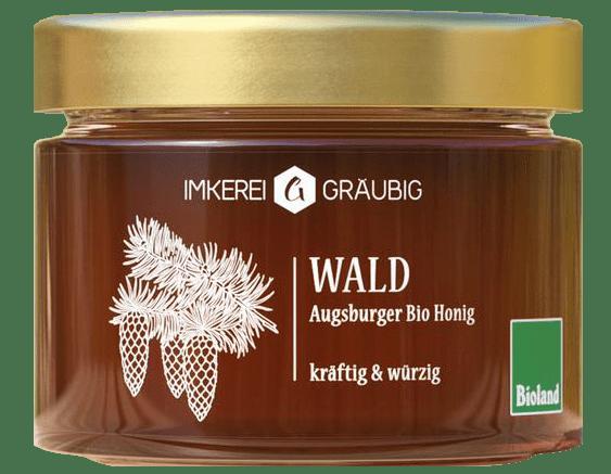 Wald Bio-Honig aus Augsburg und Deutschland